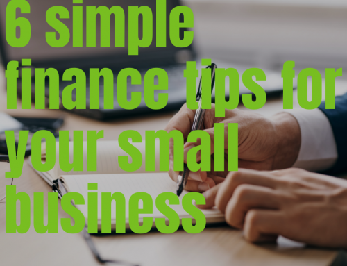 6 simple finance tips for your small business