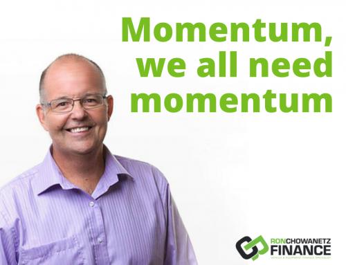 Momentum, we need momentum